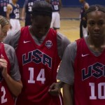 July 15, 2012 - 2012 USA Women's Basketball team practice at Bender Arena  in Washington, DC. (Photo by Mark W. Sutton)
