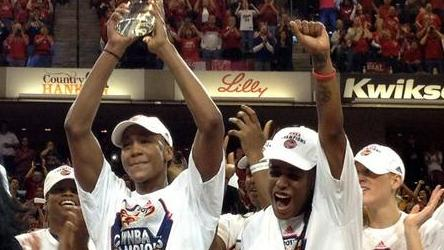 Tamika Catchings, 2012 WNBA Finals MVP. Photo: WNBA.