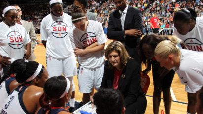 UNCASVILLE, Conn. (June 5, 2015) The Connecticut Sun host the Washington Mystics in their 2015 WNBA season home opener . Photo: Chris Marion/NBAE via Getty Images.