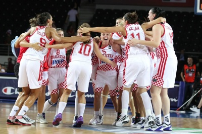 Croatian National Team. Photo: FIBA