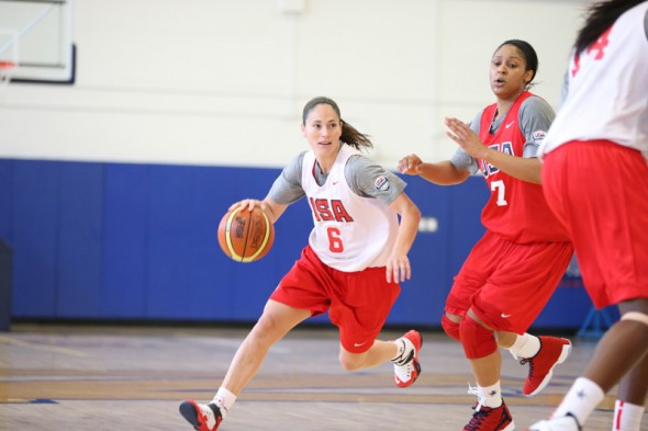 September 2014: USA Basketball training camp in Annapolis, Maryland. Photo: USA Basketball