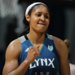 June 23 - Maya Moore of the Minnesota Lynx. Copyright 2012 NBAE (Photo by David Sherman/NBAE via Getty Images)