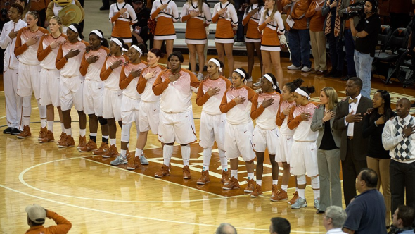 Texas ascended to its highest ranking in ten years. Photo: Texas Athletics.