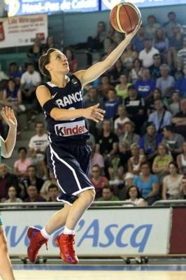France's Celine Dumerc.