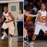 Elena Delle Donne, Sugar Rodgers, Alyssa Thomas, Skylar Diggins. Photos: Mark Campbell/Delaware Athletics, Georgetown Athletics, Maryland Athletics, Matt Cashore.