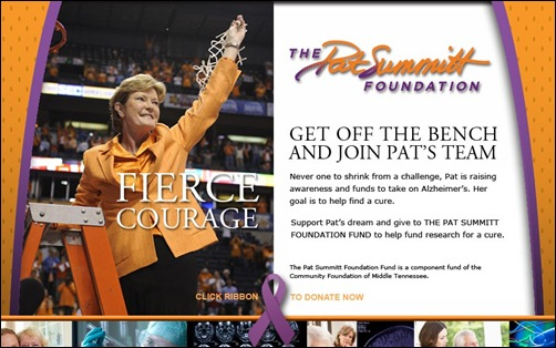 Pat Summitt Foundation Launched