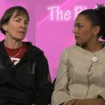 "Former Stanford player and host of ""The Pink Room"" Ros Gold-Onwude talked with Stanford coach Tara Van DerVeer about facing Tennessee and Pat Summitt"